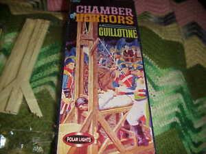 Vintage 2000 Polar Lights The Chamber Of Horror La Guillotine Model Set #5091