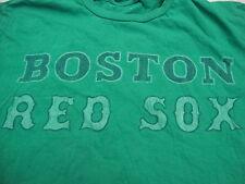 MLB Boston Red Sock Baseball Fan Irish St Patricks Day Green T Shirt M
