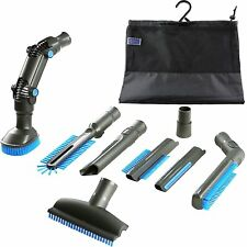 Vacuum Attachment Accessories Kit 8-Piece for ShopVac Shark Eureka Miele Bissell