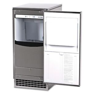 Ice-O-Matic GEMU090 85lb Pearl Ice Undercounter Ice Machine w/Bin