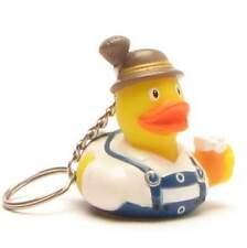 Schlüsselanhänger-Ente Bayer Xaver mit Bierkrug