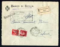 24608) Italy 2.6.45 Correo Milit. Racc. Caltagirone Catania