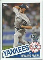 2020 Topps Series 1 1985 35th Anniversary Mariano Rivera #85-72