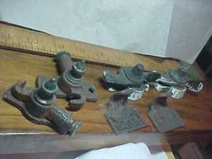 Antique Eastlake Victorian Ornate Window Sash Lock Latch Hardware LOT