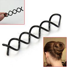 10 x Nuevo Pinzas Pasadores Horquillas Espiral para Pelo DIY Mujer Chica Moda