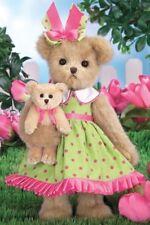 """14"""" TULIP & TEDDY*Bearington Bear*NEW*NWT*Spring*Flower*Garden*143286"""