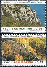 1999 San Marino 1832-1833 Europa CEPT Nationale parken