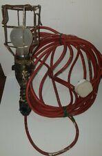 VINTAGE 240V STADIUM INSPECTION LAMP