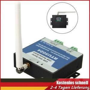 RTU5024 GSM Toröffner Relaisschalter Funk Fernbedienung Zugangskontrol Türöffner