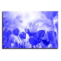Rose Tulip Landscape Floral Single Canvas Wall Art Picture Print 10