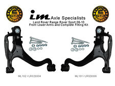Range Rover Sport 05-10 Front Lower Suspension Control Arms, Pair (wishbone)