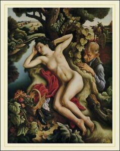 Persephone  :  Thomas Hart Benton  :  Archival Quality Art Print for Framing