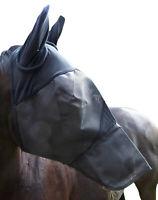 Fliegenmaske inkl.Ohren und Nase/ Voll-und Warmblut/verstärkte Ausführung Wogati