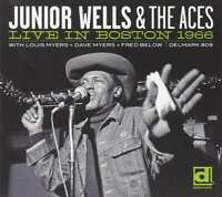 Junior Wells And The Aces-Live in Boston 1966 CD   Very Good