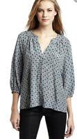 Joie Addie B Blouse Top 100% Silk  Size