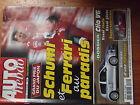 $$w Revue Auto Hebdo N°1260 GP Japon Ferrari Schumacher Renault Clio V6