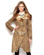 Polyester Animal Print Dry-clean Only Coats & Jackets for Women