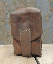 Gebrauchte Ledertasche Gürteltasche Munitionstasche Armee Magazintasche einfach