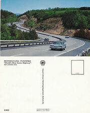 1960's PENNSYLVANIA TURNPIKE PENNSYLVANIA UNITED STATES COLOUR POSTCARD
