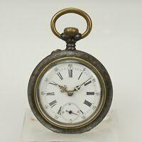 Rare Taschenuhr Herren Uhr pocket watch no armbanduhr spindel Uhren RAR