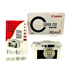 Canon Prima Super 120 Caption Neo Classic AI AF Zoom Lens 38-120 Camera RARE