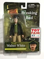 Breaking Bad WALTER WHITE TOY FAIR NY 2014 Exclusive BrBa Action Figure! MEZCO