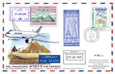 Maxi-FFC Air France 1st flight Paris-Cairo / Concorde 1976 / B787-9 2017 - TYPE1