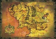 Herr der Ringe Poster Plakat Karte von Mittelerde 91,5 x 61 cm Middle Earth