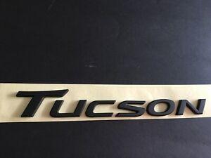 NEW Hyundai Tucson Emblem Badge for 2016-2017 Matte Black
