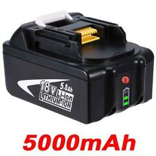 5.0AH 18V Battery For Makita BL1850 BL1840 BL1830 BL1815 LXT with Fuel Gauge