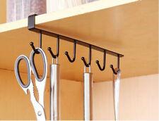 Kitchen Storage Rack Cupboard Hanging Hook Hanger Chest Storage Organizer Holder