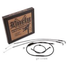 "Burly Brand 8"" Handlebar Cable/Line Kit For Harley-Davidson XL 07-13"