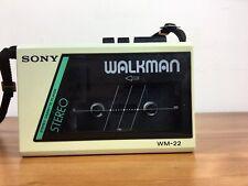 Sony Walkman WM-22 Retro Vintage Cassette Player Working In Fair Condition
