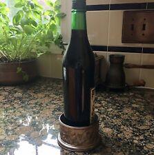 Genuine Silverplate Wine Bottle  Stand  By Leonard Italy. Vintage🍷