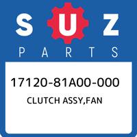 17120-81A00-000 Suzuki Clutch assy,fan 1712081A00000, New Genuine OEM Part