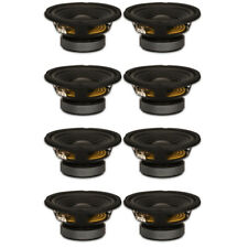 "8 Goldwood Sound Gw-206/8 Oem 6.5"" Woofers 180 Watt ea 8ohm Replacement Speakers"