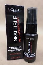 Loreal Infallible Pro Spray and Set Makeup Extender Setting Spray 1 oz Exp 03/18
