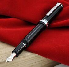 SAILOR 14K Gold Rhodium M Nib Professional Gear Sapporo Slim Black Fountain Pen