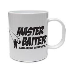 MASTER BAITER - Fish / Fishing / Rod / Novelty / Funny / Gift Themed Ceramic Mug