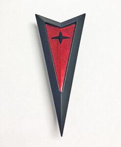 NEW! 06-09 Pontiac G6 Solstice Arrowhead Arrow Emblem BLACK Badge REPRODUCTION