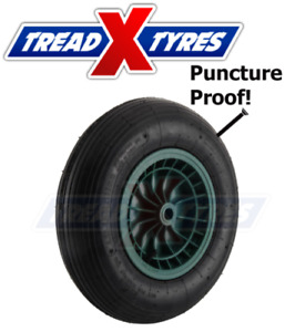 Puncture Proof Solid Wheelbarrow Wheel and Tyre 3.50-8 Sack Truck Go Kart 350 8