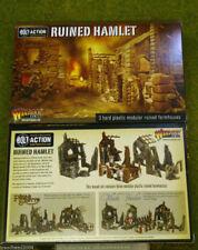 Terreno arruinado Hamlet Granja Perno acción Warlord Games 28mm Sd