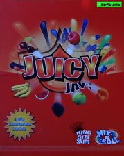 8x Juicy Jay's flavored King Size Slim Papers, 8 gusti