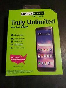Simple Mobile Prepaid LG Journey (16GB) - Black