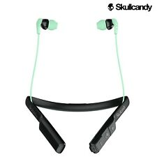Genuine Skullcandy Method Wireless Gym Sport Earbuds with Microphone Mint Black