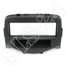 DIN KFZ Radioblende+Ablagefach schwarz Citroen C1 Peugeot 107 Toyota Aygo ab2014