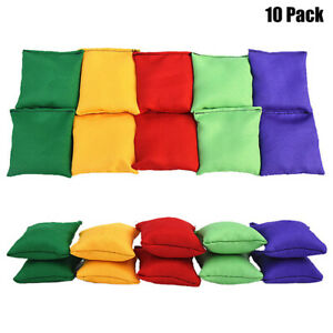 Sports Day Bean Bags Throwing Catching Play PE Garden Juggling Outdoor Games Toy