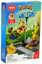 Pokemon Mega Construx Chimchar vs. Pikachu Set