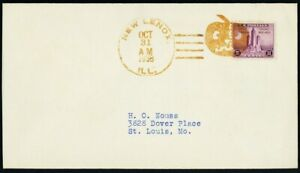 Jack-O-Lantern Nice Strike Fancy Cancel Cover - Stuart Katz