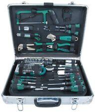 Brüder Mannesmann Werkzeug 124-tlg. Werkzeugsatz Zubehor im Aluminium Koffer NEU